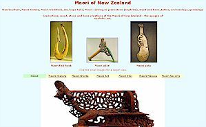 Maori people of New Zealand - Maori society art carvings history Maori language