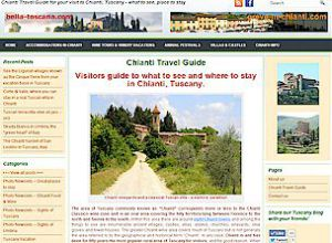 Chianti Travel Guide Wordpress content management system