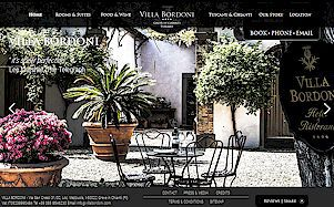 Villa Bordoni luxury boutique hotel in Tuscany