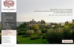 Luxury Hotel in Tuscany, Villa le Barone - Greve in Chianti